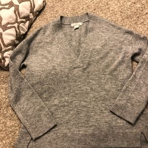 H&M Oversized Gray Sweater in Small